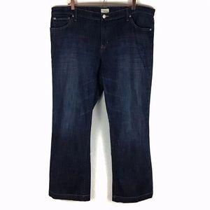 Gap Long & Lean Dark Stretchy Jean Plus 20/35